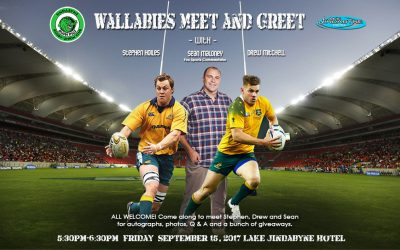 Meet Wallabies Players Friday 15 September!