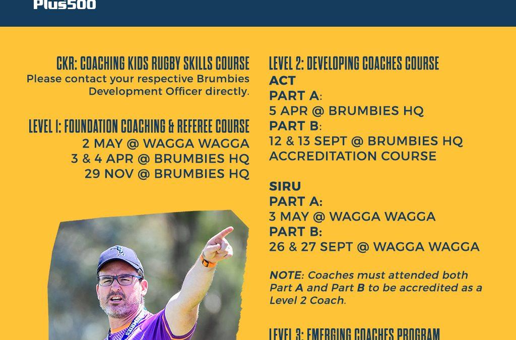 2020 Coaching Course