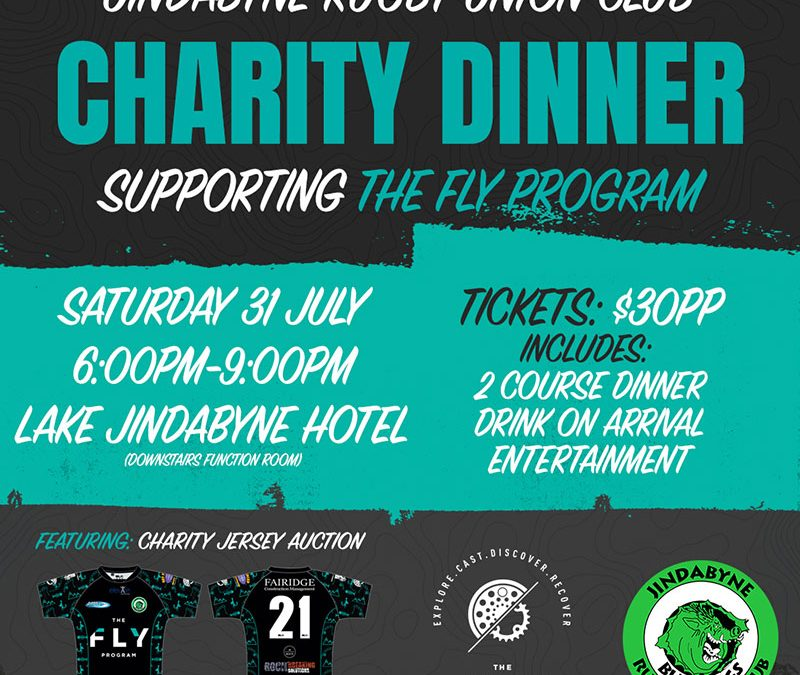 Charity Dinner Tickets on Sale